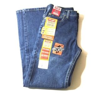 3/$15 NWT Wrangler Boys Slim Straight Jeans